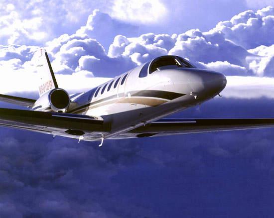 The Cessna Citation Bravo light business jet entered service in 1997.