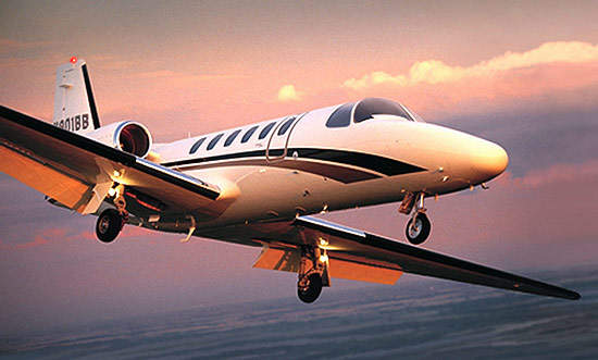 The Citation Bravo is powered by two Pratt & Whitney PW530A engines. Each engine delivers 12.84kN (2,287lb) of thrust.