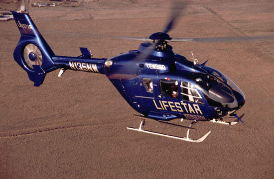 The EMS version in operation with LIFESTAR of Northwest Texas.