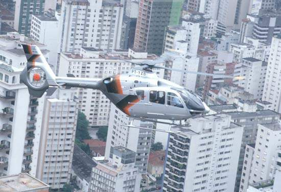 Over 250 EC 135 helicopters have been delivered since it entered service in 1996.