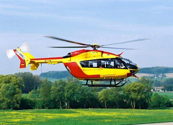 Launch customer for the EC 145 is the Sécurité Civile, the French civil defence and emergency preparedness organisation.
