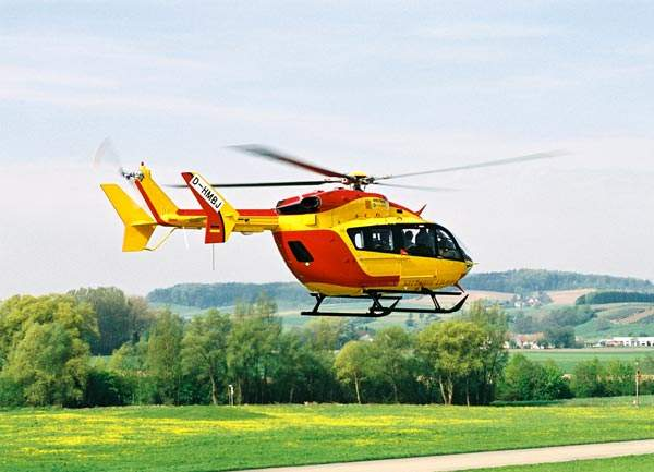 The first helicopter was delivered to the Sécurité Civile in April 2002.