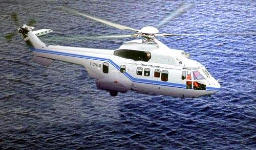 The EC225 is part of the Super Puma and Cougar mkII family of helicopters.