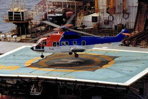 The EC225 can accommodate two crew and up to 25 passengers.