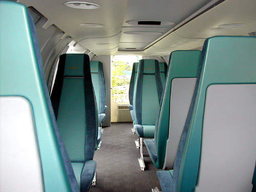 The cabin can be laid out in a business class arrangement or luxuriously furnished for VIP transportation.