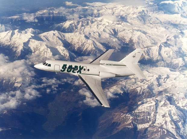 The Falcon 50EX entered service in 1997.