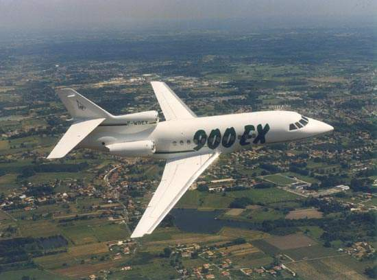 Over 100 Falcon 900EX aircraft have been delivered and are operational worldwide.