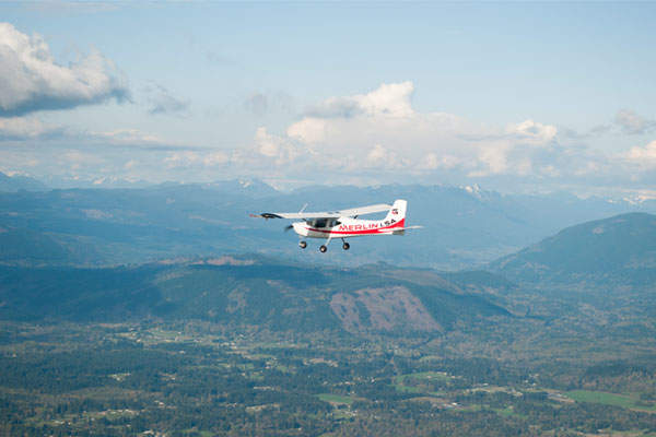 The first flight of Merlin LSA was conducted in April 2015. Image courtesy of Glasair Aviation.