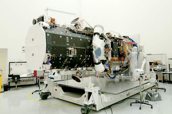 The critical design review (CDR) of the satellite's imaging payload was completed in August 2014. Image courtesy of Ball Aerospace.