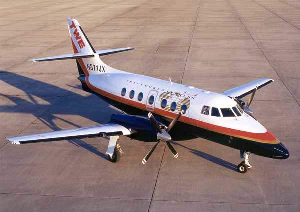 Transworld Express Jetstream 32.