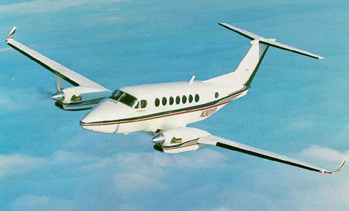Over 500 King Air 350 have been sold since the aircraft took its first flight in 1988.