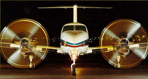 The 350 is one of three current production versions of the King Air, along with the B200 and the C90B.