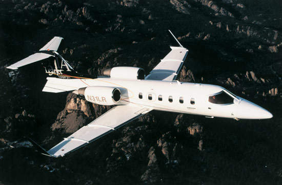 The Learjet 31A