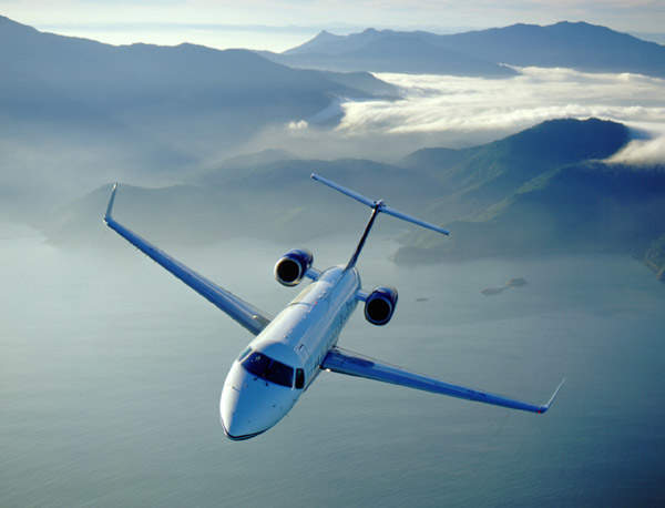 The Legacy super mid-size corporate and executive jet.