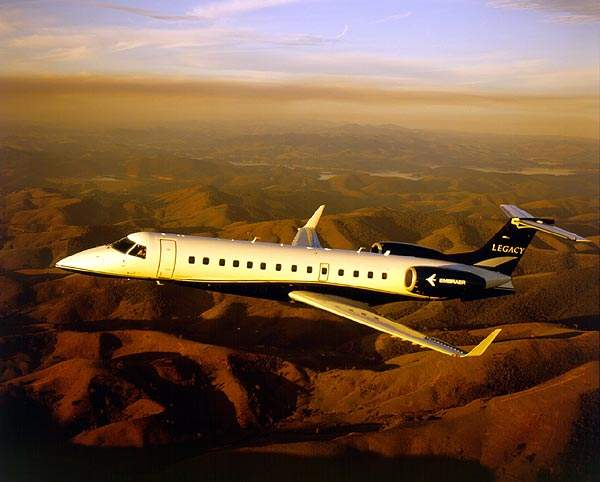 The Legacy can be configured as a Corporate Shuttle with up to 19 seats or Executive Jet with up to 15 seats.