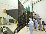 The spacecraft entered into environmental testing phase in February 2013.