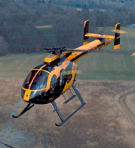 The MD600N multi-purpose light helicopter entered service in 1997.
