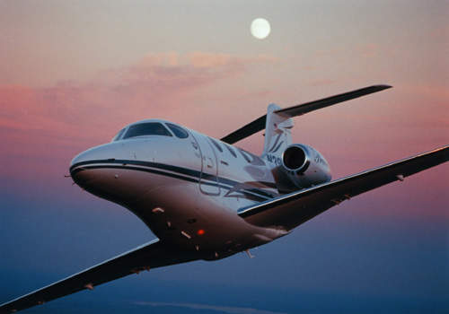 Deliveries of the Premier 1 light business jet I began in 2001, following FAA certification, including single pilot approval.