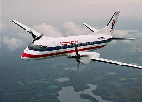 Saab 340B in the fleet of American Eagle.