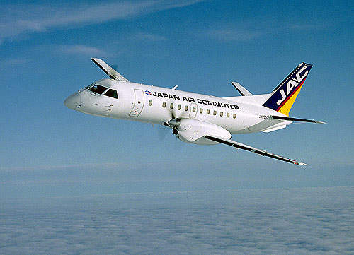 Japan Air Commuter (JAC) operates a fleet of 11 Saab 340B aircraft.