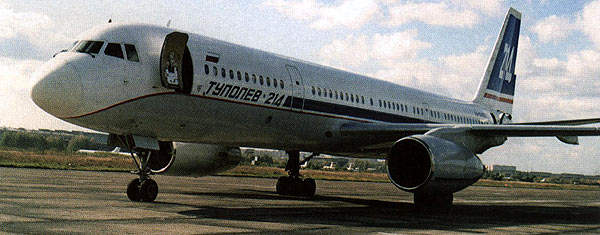 The Tu-214 is available as a passenger airliner, a combination cargo / passenger aircraft or a VIP aircraft.