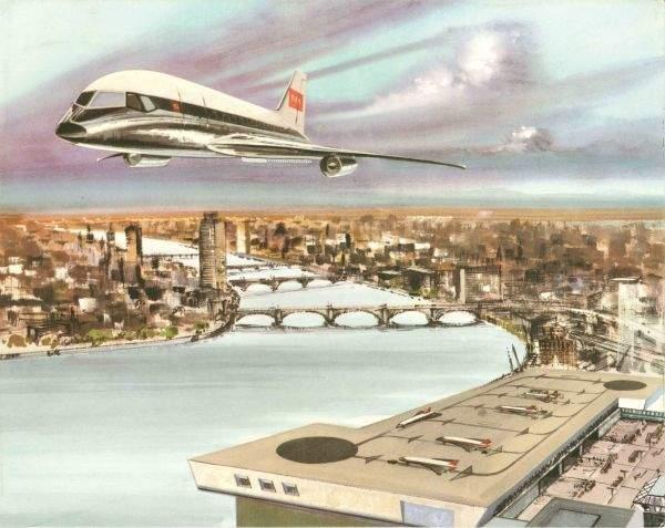 BAE vertical take-off and landing passenger aircraft