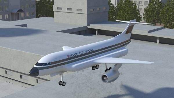 he VTOL passenger jet inspired modern jet fighters