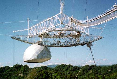 Arecibo has the largest telescope in the world.