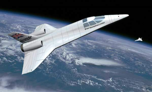 The Ascender is designed to carry out sub-orbital flights.
