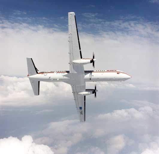 The ATP is designed for short haul flights with up to 72 passengers.