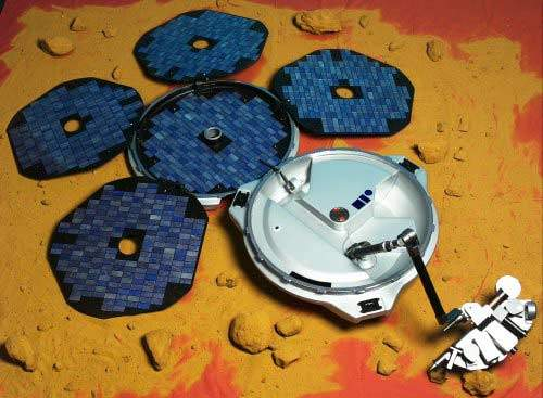 Beagle 2, part of the ESA's Mars Express mission, was due to land on