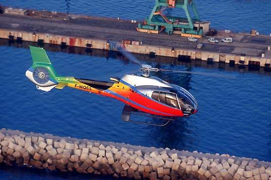 The single-engine EC 130 B4 is the latest member of Eurocopter's Ecureuil family of helicopters.