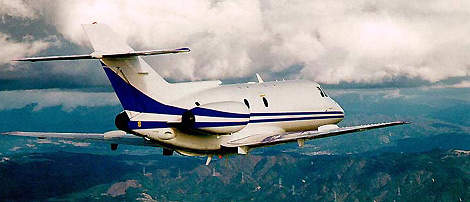 The Hawker 800XP can be configured as a business or VIP jet or as a special mission aircraft.