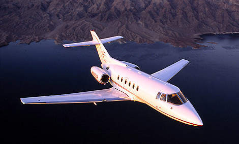 The Hawker 800XP entered service in 1995.