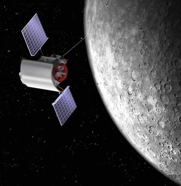 Messenger will conduct the first orbital study of the planet Mercury.