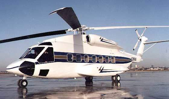 Sikorsky S-92 Helibus medium-sized helicopter.