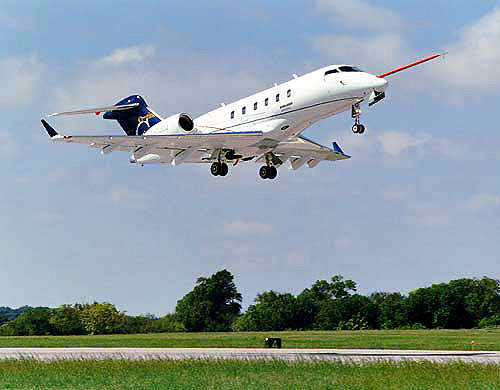 The Challenger 300 requires a take-off airfield length of less than 5,000ft.