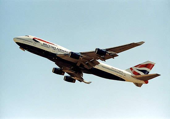 Boeing 747-400 in the fleet of British Airways.