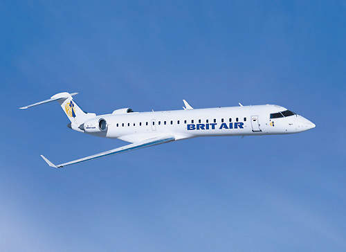 Brit Air, a subsidiary of Air France, was the launch customer for the CRJ700.