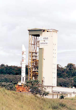 The Ariane 5 Final Assembly Building where the launcher receives its payload.