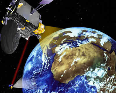 The Artemis satellite is designed to test new technologies.