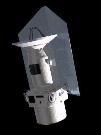 The space telescope has Alcatel as its main contractor.