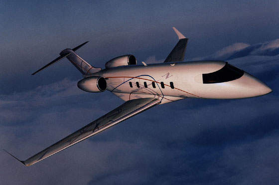 The Bombardier Challenger 300 (formerly called the Continental) business jet entered service with Flexjet in January 2004.