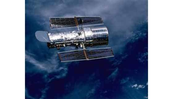 The Hubble Space Telescope (HST) was launched into orbit around Earth on 25 April 2001.
