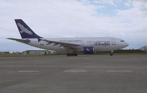 A310 in service with Khalifa Airways.
