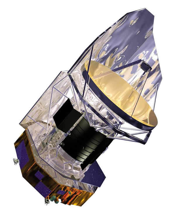 The Herschel spacecraft was launched in 2009.