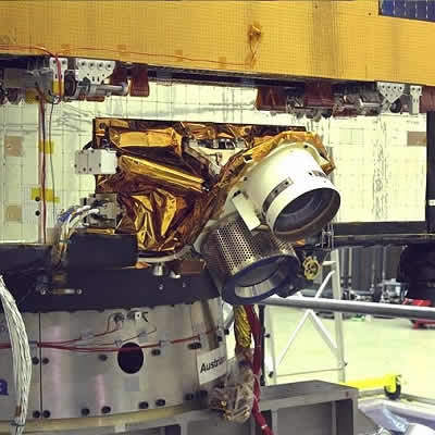 Artemis has an innovative ion propulsion system.