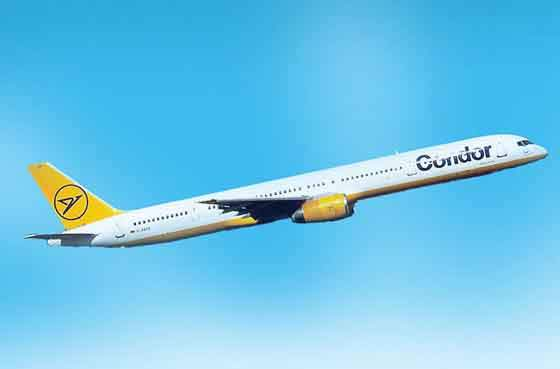 Launch customer for the 757-300 was Condor Flugdienst (now Thomas Cook Airlines, Germany) with an order for 12 aircraft.