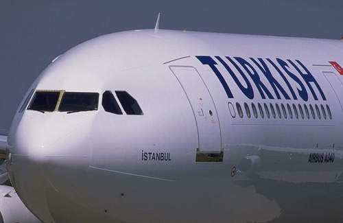 Turkish Airlines A340.