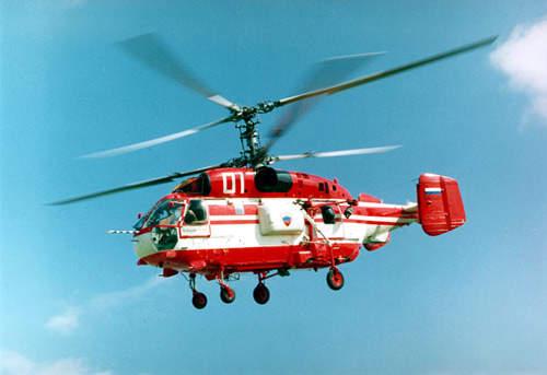 The Kamov Ka-32A multirole helicopter.